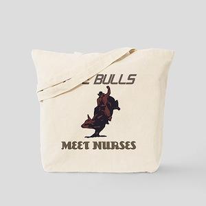 Meet Nurses Tote Bag
