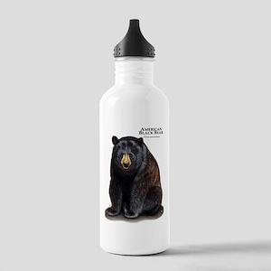 American Black Bear Stainless Water Bottle 1.0L
