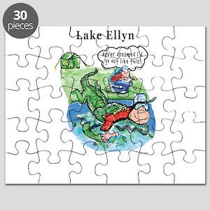 Gator swallows happy camper Puzzle