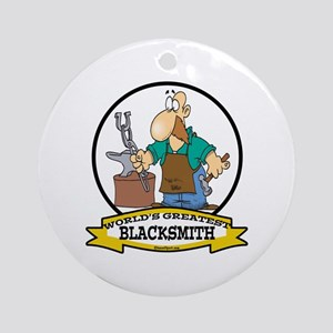 WORLDS GREATEST BLACKSMITH Ornament (Round)