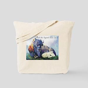 Kyle's White Buffalo Tote Bag