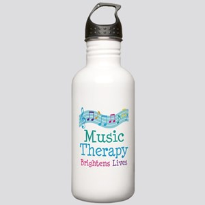 Music Therapy Colorful Stainless Water Bottle 1.0L