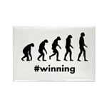 Winning Evolution Rectangle Magnet (100 pack)