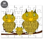 Family of Owls Puzzle
