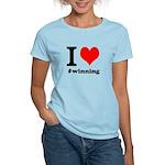 I (heart) winning Women's Light T-Shirt