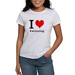 I (heart) winning Women's T-Shirt