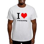 I (heart) winning Light T-Shirt