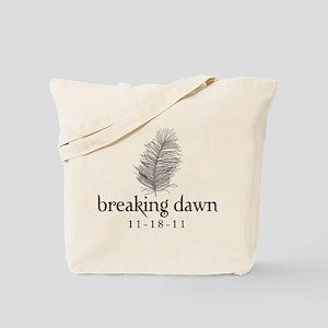 Twilight Breaking Dawn Feathe Tote Bag