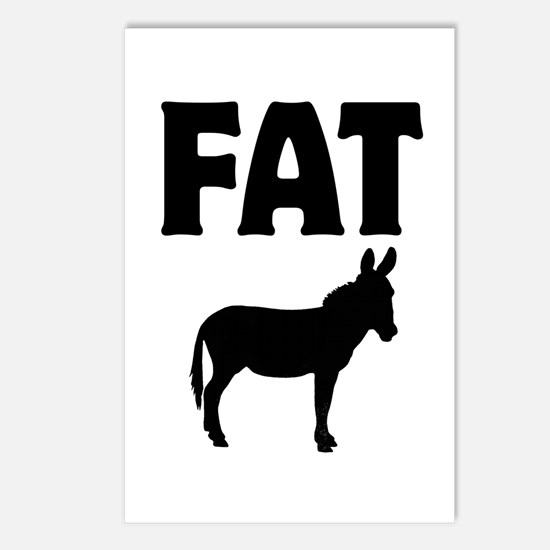 Fat Ass (Donkey) Postcards (Package of 8)