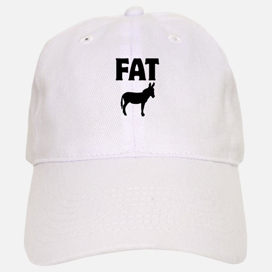 Fat Ass (Donkey) Baseball Baseball Cap