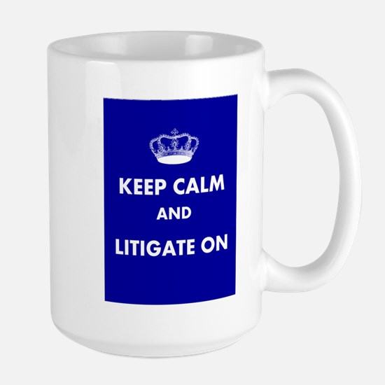 Keep Calm Large Mug