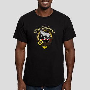 Brown Crest on Dark Items Men's Fitted T-Shirt (da