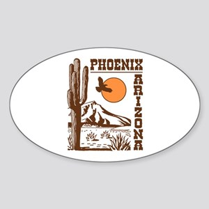 Phoenix Arizona Sticker (Oval)
