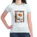 Scottsdale Arizona Jr. Ringer T-Shirt