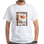 Scottsdale Arizona White T-Shirt