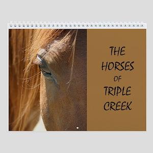 Triple Creek Horses Wall Calendar