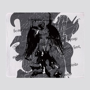St. Michael: Protection Throw Blanket