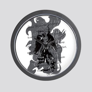 St. Michael: Protection Wall Clock