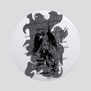 St. Michael: Protection Ornament (Round)