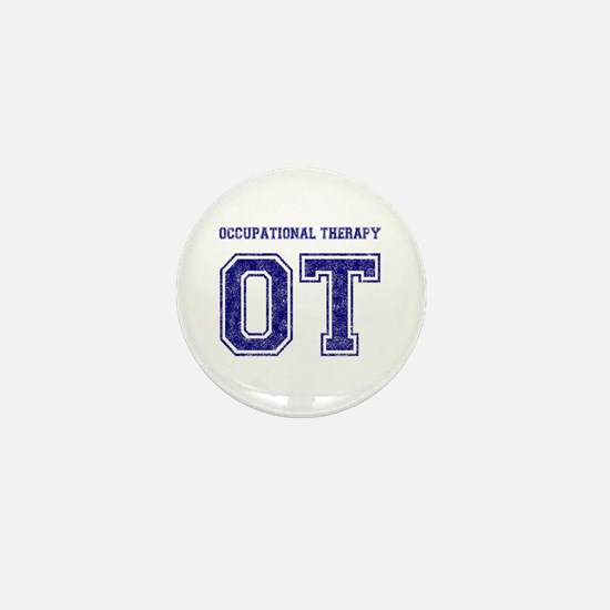 Team OT (Navy) - Mini Button