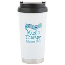 Music Therapy Colorful Stainless Steel Travel Mug