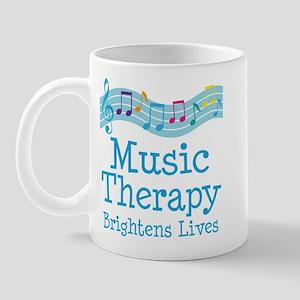 Music Therapy Colorful Mug