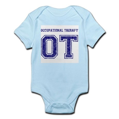 Team OT (Navy) - Infant Creeper