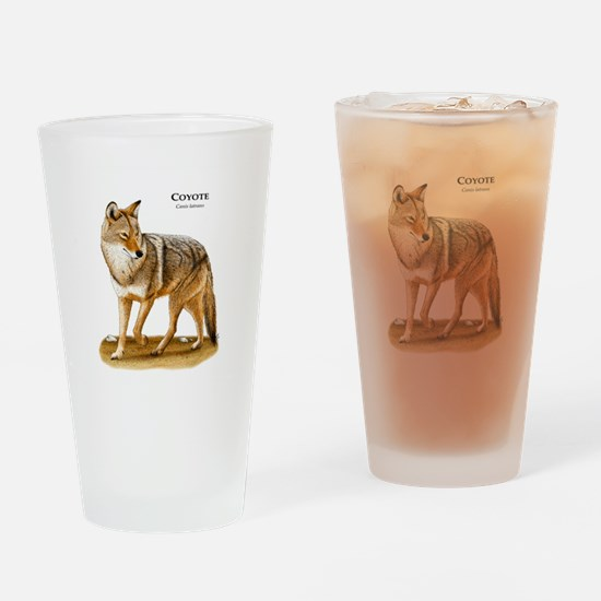 Coyote Drinking Glass