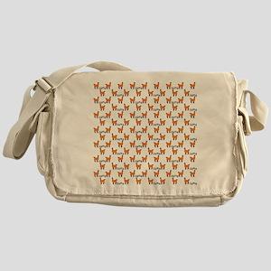 Llama Mania Messenger Bag