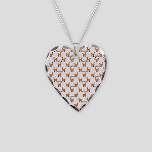 Llama Mania Necklace Heart Charm
