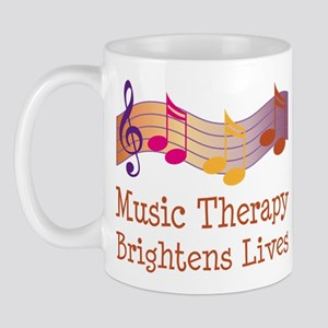 Music Therapy Quote Mug