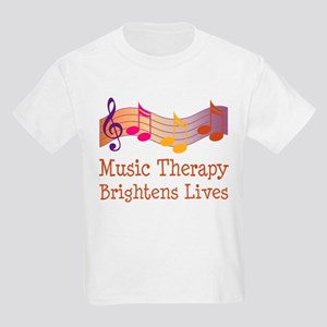 Music Therapy Quote Kids Light T-Shirt