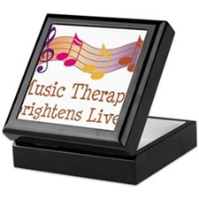 Music Therapy Quote Keepsake Box