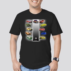 Mustang Gifts Men's Fitted T-Shirt (dark)