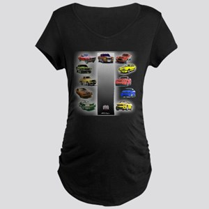 Mustang Gifts Maternity Dark T-Shirt