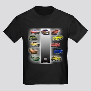 Mustang Gifts Kids Dark T-Shirt