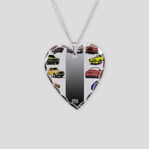 Mustang Gifts Necklace Heart Charm