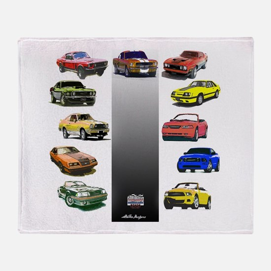 Mustang Gifts Throw Blanket