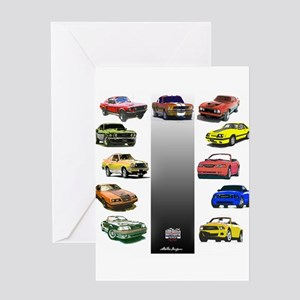 Mustang Gifts Greeting Card