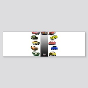 Mustang Gifts Sticker (Bumper)