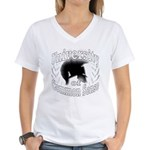 UCS Women's V-Neck T-Shirt