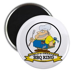 WORLDS GREATEST BBQ KING MEN 2.25