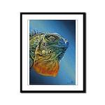 Harold Framed Panel Print