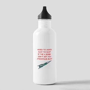 atom bomb joke Stainless Water Bottle 1.0L