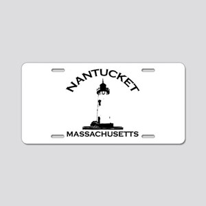 Nantucket MA Aluminum License Plate