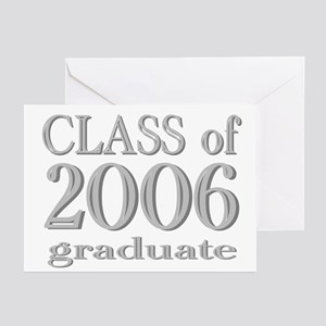 Class of 2006 Graduate Greeting Cards (Package of