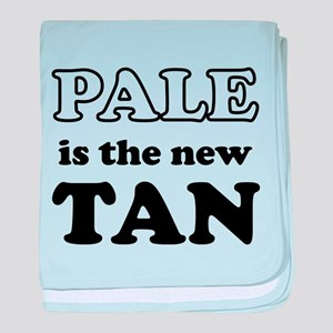 Pale is the new Tan baby blanket