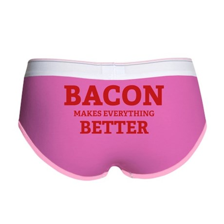 Bacon makes everything better Women's Boy Brief
