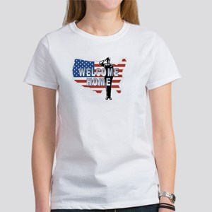 Welcome Home Military Women's T-Shirt