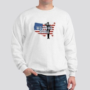 Welcome Home Military Sweatshirt